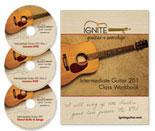 Learn Intermediate Guitar Course Package